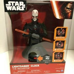 NEW Star Wars Lightsaber Clock The Inquisitor